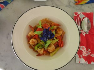 The best dish so far, as equally beautiful as delicious.  Sweet and Sour Prawns at the China Inn, Phuket