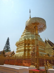 The chedi at Doi Suthep