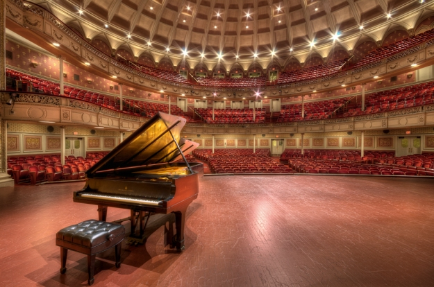Carnegie Music Hall Photo By: Brad Truxell
