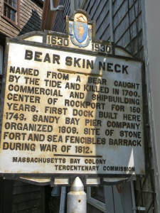 The story of Bear Skin Neck