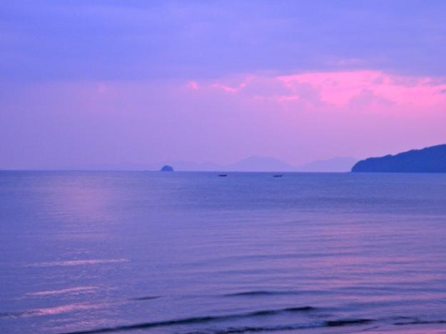 Ao Nang at sunset