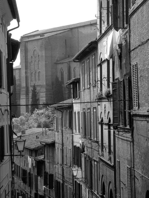 Wandering the streets, Siena, Italy
