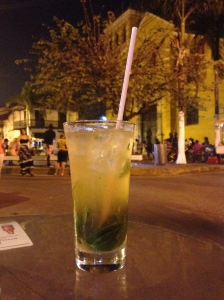 My quest for the tastiest Mojito led me right to the square outside of our hostel