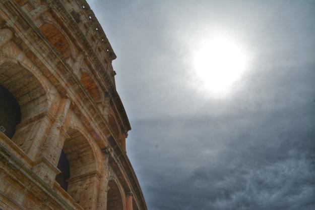 sunny colosseum